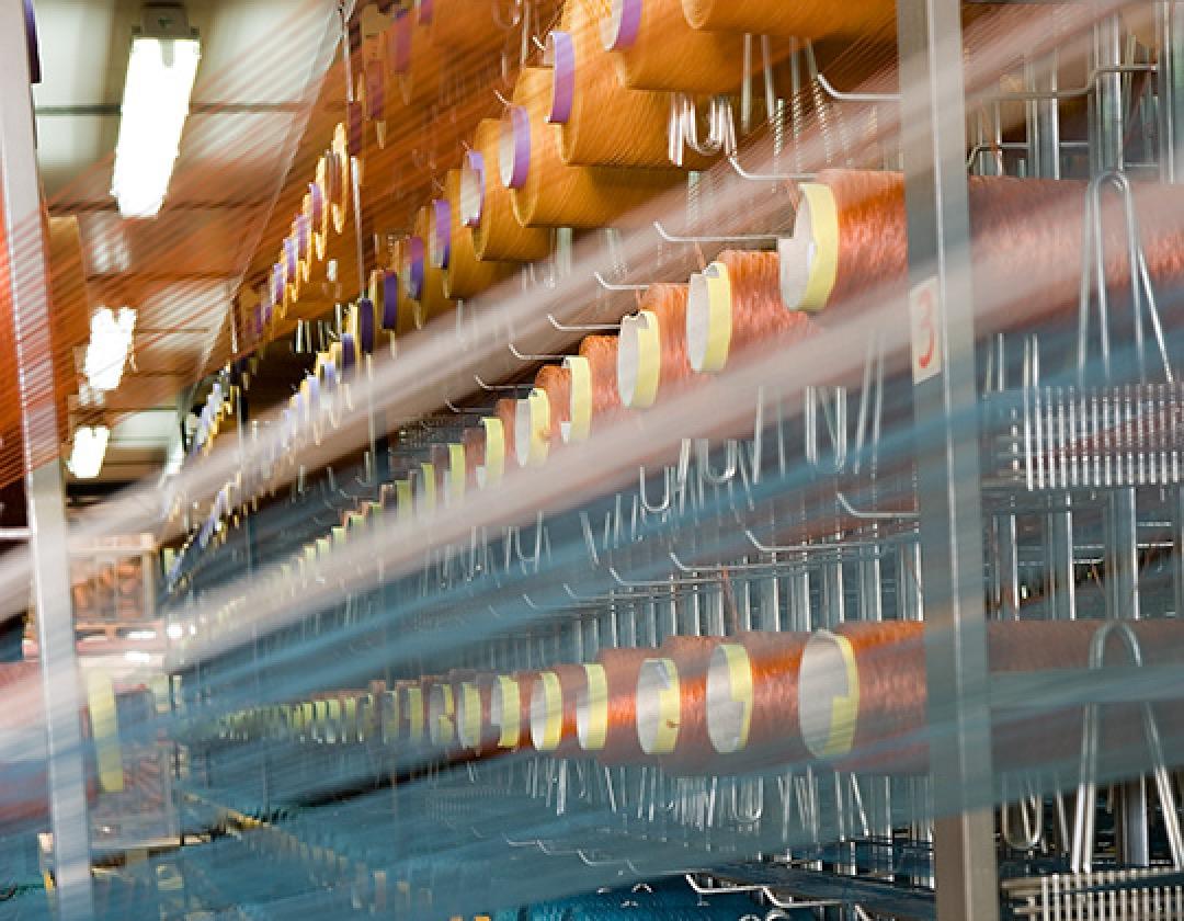 Fábrica de alfombras en Crevillente