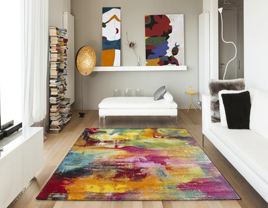 Alfombras de arte abstracto