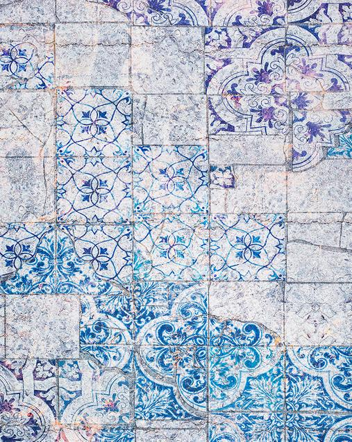 Alfombra Hidráulica Alice 19 07 Azul