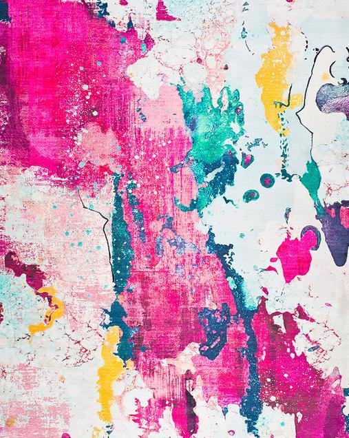 Alfombra de Arte Abstracto Alice 73 21 Multi