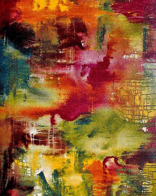 Alfombra de Arte Abstracto Belis 20754 21 Multi