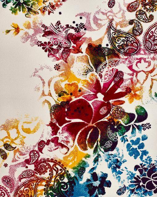 Alfombra con motivos Florales Belis 20979 21 Multi
