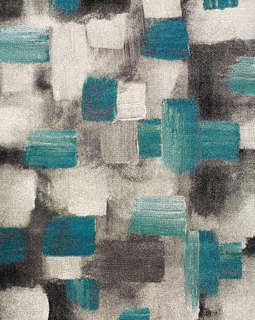 Alfombra de Arte Abstracto Bianca 21529 07 Azul