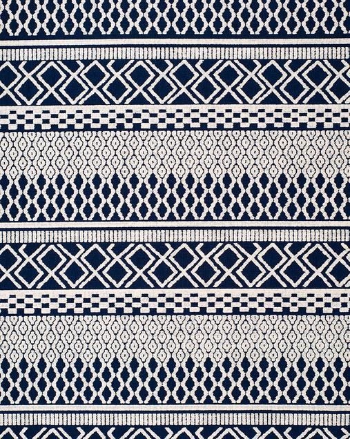 Alfombra Étnica Cannes 42108 07 Azul