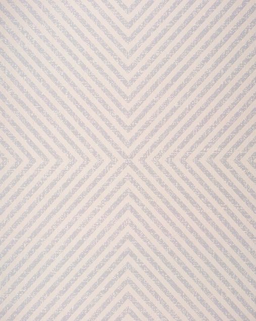 Alfombra Geométrica con Estilo Nóridico Cannes 42113 04 Blanco