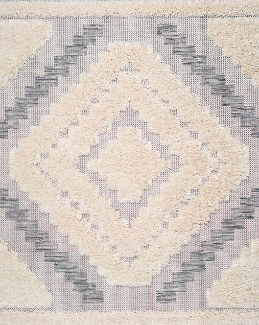 Alfombra Étnica Cheroky 9052 04 Blanco