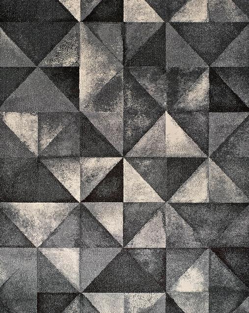 Alfombra Geométrica Delta 12004 14 Gris