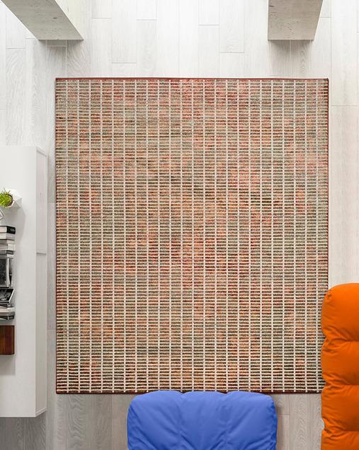 Alfombra Vintage con motivos Geométricos Flavia 763 21 Multi
