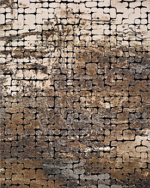 Alfombra con motivos Naturales Hydra 16329 14 Gris