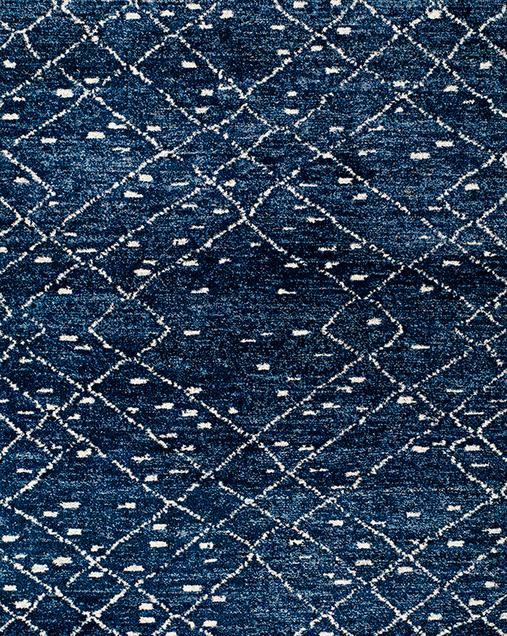 Alfombra Étnica Indigo 22138 07 Azul