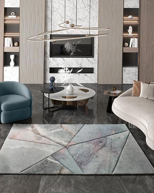 Alfombra Geométrica de estilo Vintage Istambul 24375 21 Multi