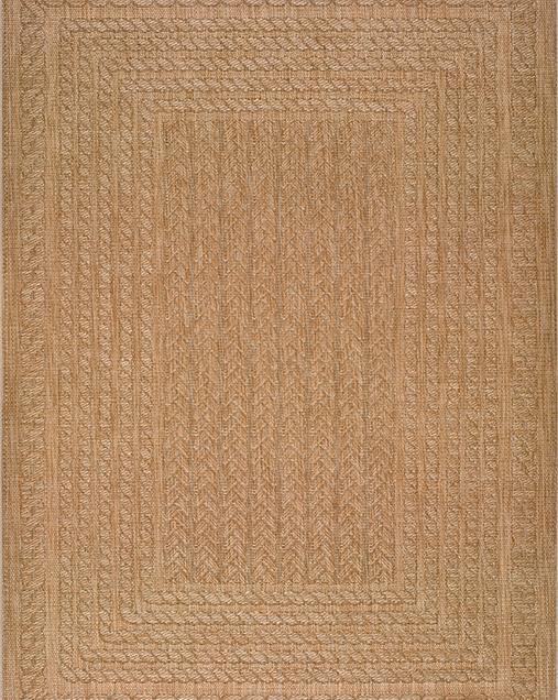 Alfombra Étnica con motivos geométricos Jaipur 36317 556 Beig