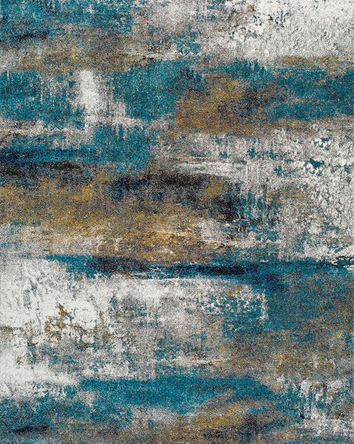 Alfombra de Arte Abstracto Kalia 24133 21 Multi