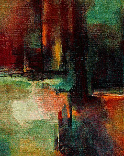 Alfombra de Arte Abstracto Koby 24151 21 Multi