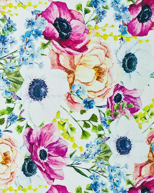 Alfombra con motivos Florales Mery Anemoni