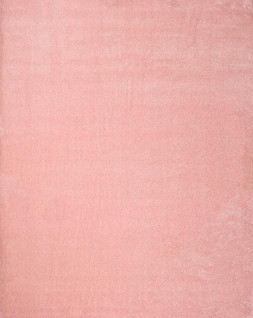 Alfombra Shaggy de pelo largo en color liso Montana LISO 40 Rosa
