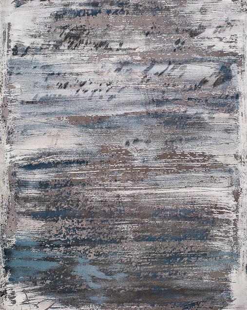 Alfombra Vintage con toques de Arte Abstracto Norah 23271 14 Gris