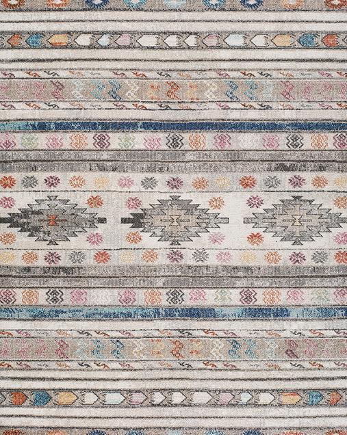 Alfombra Étnica de estilo Vintage Parma 20046 21 Multi