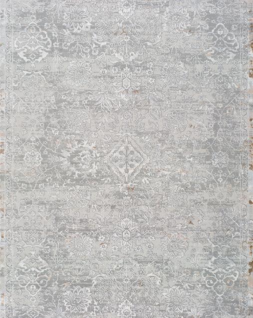 Alfombra Tradicional Riad 24057 19 Plata