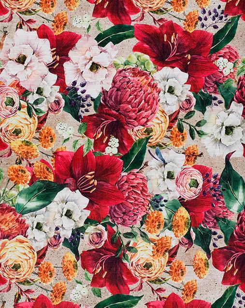 Alfombra con motivos Florales Ricci Gigli 00