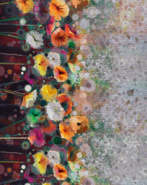 Alfombra con motivos Florales Ricci Ofelia 00