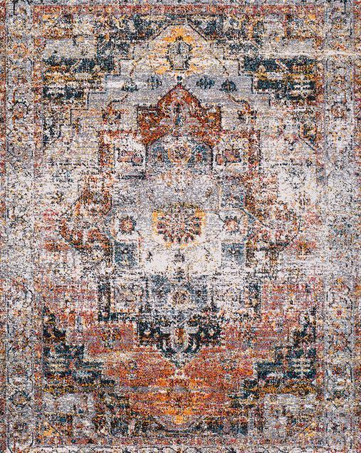 Alfombra Vintage Shiraz 16554 21 Multi