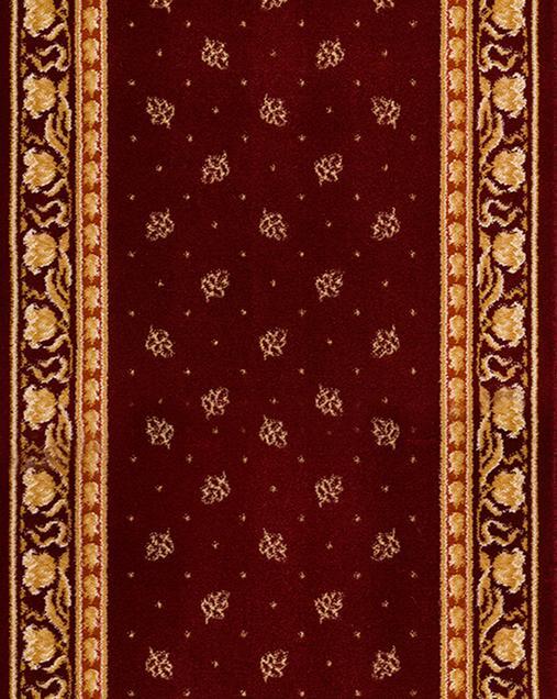 Alfombra Tradicional Terra 42 10 Rojo