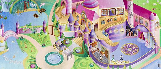 Alfombras de castillos